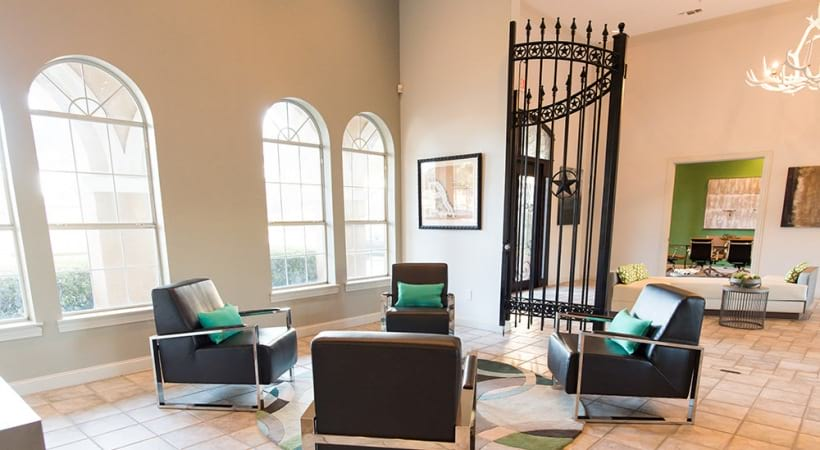 Resident lounge at Preserve at Arbor Hills