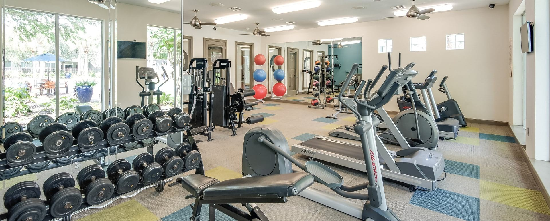 Apartment Gym at Our Deer Park Apartments