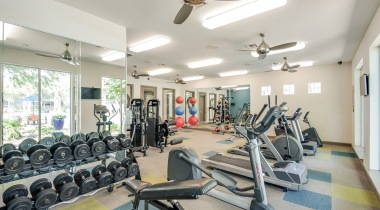 Fitness Center at Our Deer Park Apartments