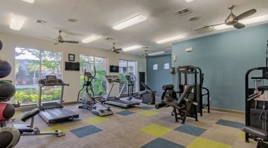 Fitness Center at The Boulevard at Deer Park
