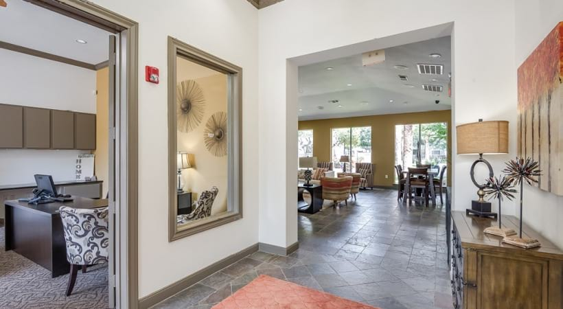 Resident Clubhouse And Leasing Office At Our Cortland Apartments