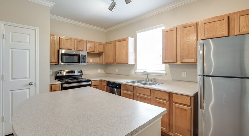 Newly Renovated Kitchen at The Boulevard at Deer Park