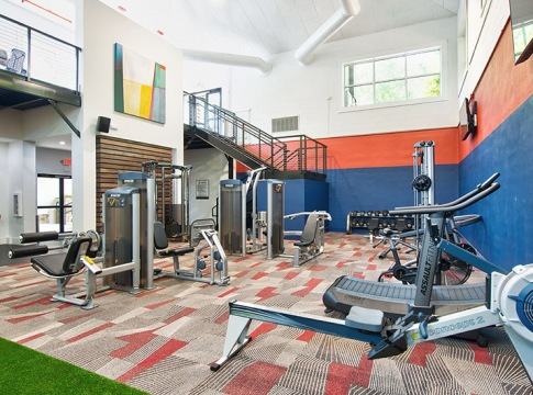 Newly Renovated Fitness Center at Cortland Duluth