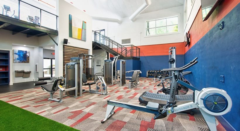 Duluth apartments with 24/7 gym
