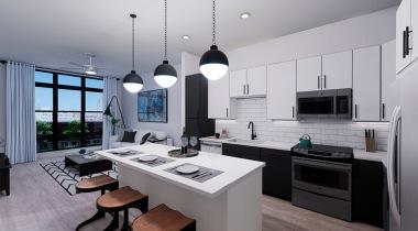 Expansive Kitchen Islands