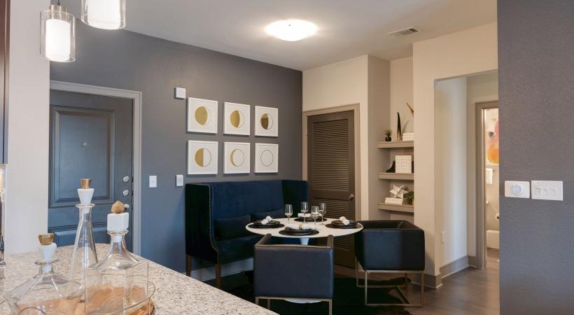 Luxury apartment floor plan at Cortland Inkwell Greenhouse