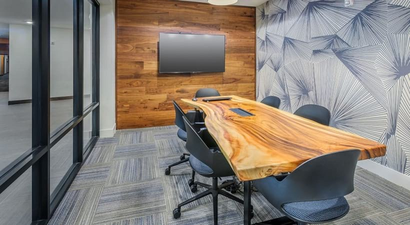 Business center with wifi for residents at our apartments near Uptown Charlotte