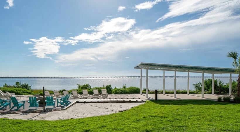 Beach views at our Tampa Bay apartments