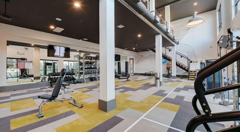 Our 24/7 Fairview Village apartment gym