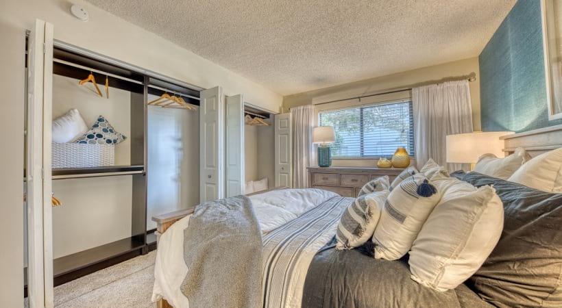 Spacious Bedroom Closets