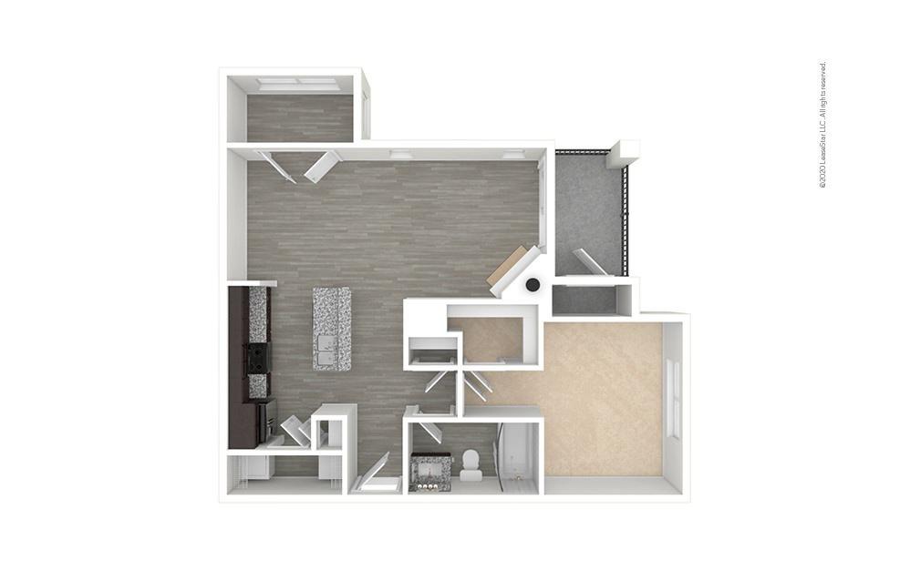 A4 - Longwood 1 bedroom 1 bath 802 square feet (1)