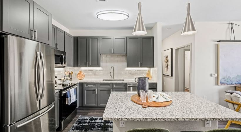 Energy-Efficient, Stainless Steel Appliances at Our Cortland Flatirons Apartments Near Broomfield, CO