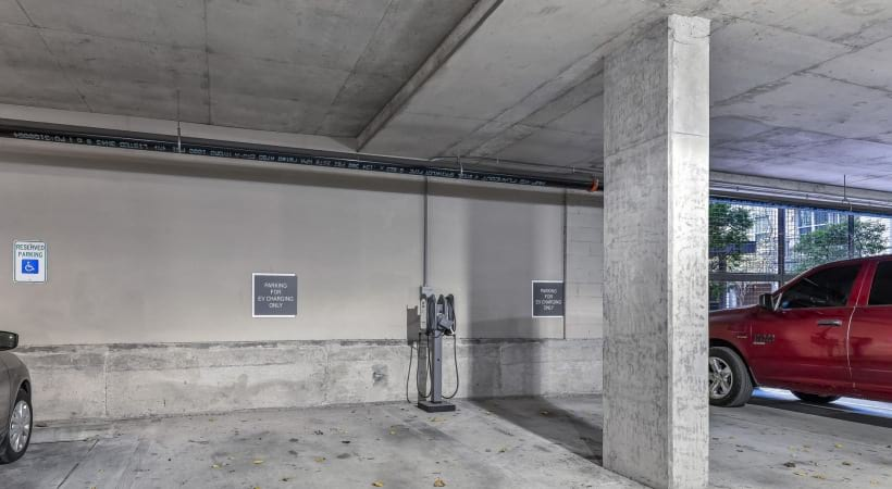 Dallas apartments with electric vehicle chargers