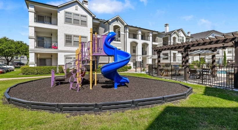 Playground at our apartments in The Colony, TX