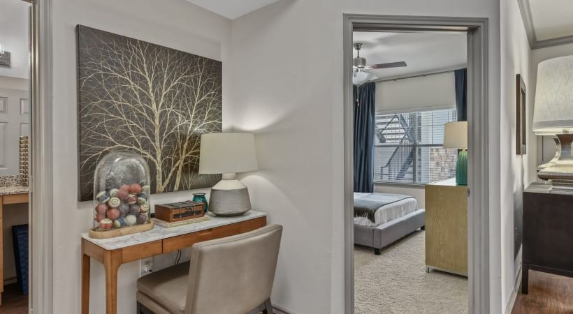 Spacious apartment floor plan at The Bristol by Cortland