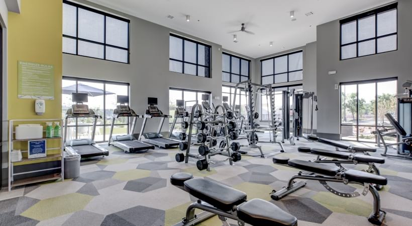 Our Broomfield apartments with gym