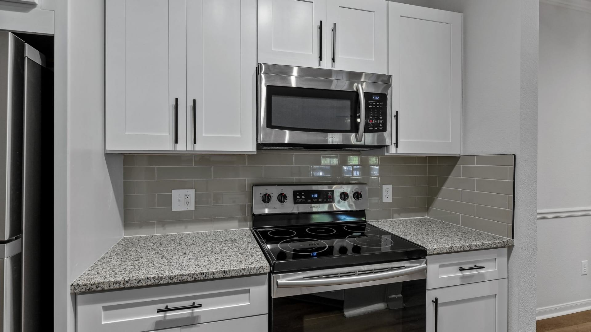Allen apartments with stainless steel appliances