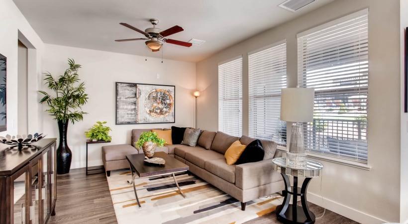 Ceiling Fan in Living Rooms