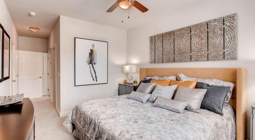 Plush Carpet in Bedrooms