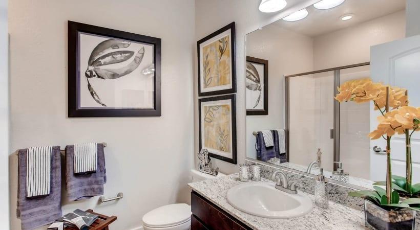 Walk-In, Glass-Door Showers and Deep-Soaking, Garden-Style Bathtubs
