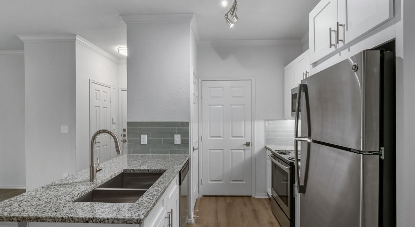 Spacious Kitchen at our apartments for rent in Plano, TX