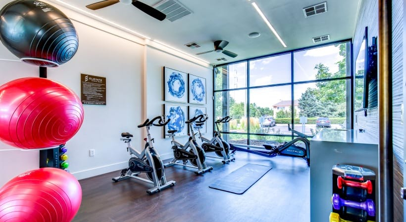 Our Downtown Colorado Springs apartments with fitness center
