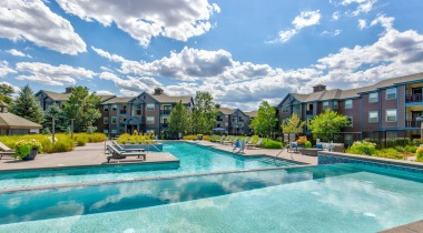 Luxury Resort-Style Pool at Cortland Grand River