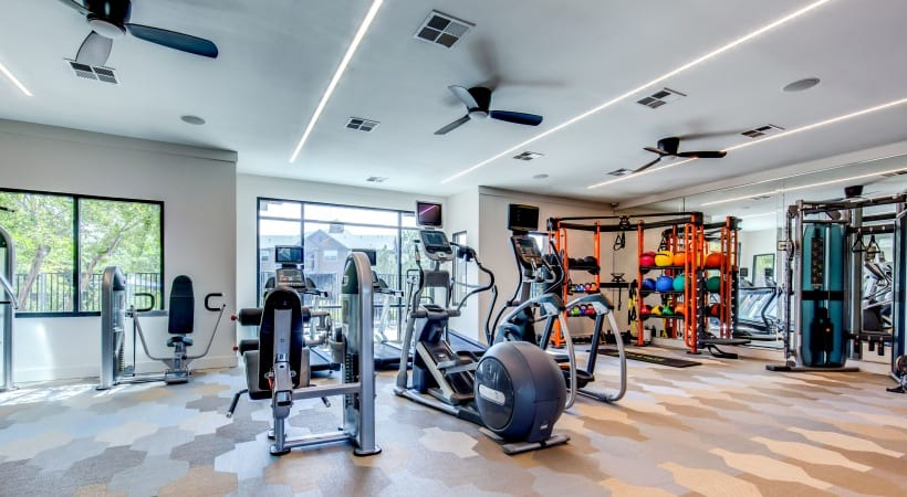 Our Briargate apartments with fitness center
