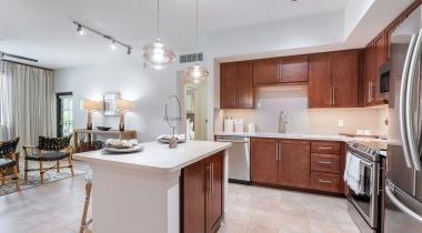 Upscale Apartment Kitchen at Our Apartments Near Boca Raton