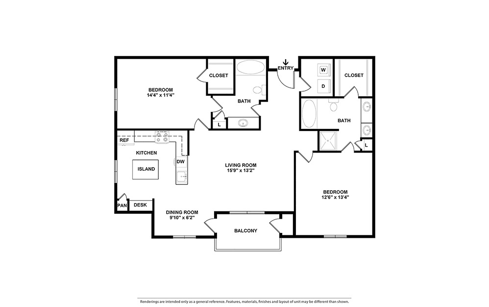 The Pearl Layout | Bryan Place