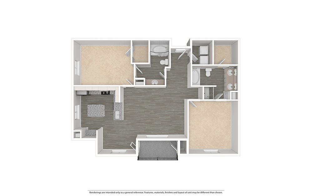 The Pearl Unfurnished Rendering | Bryan Place
