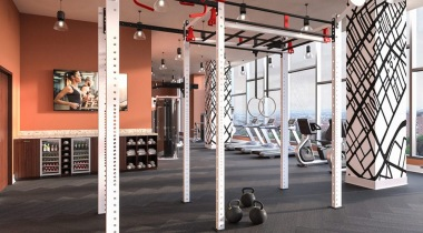 Fitness center at our apartments for rent in Birmingham, AL