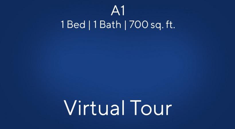 A1 1 Bed   1 Bath   700 sq. ft.