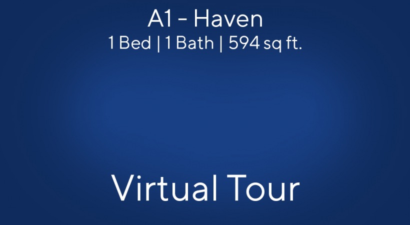 Virtual Tour of our A1 - Haven Floor Plan