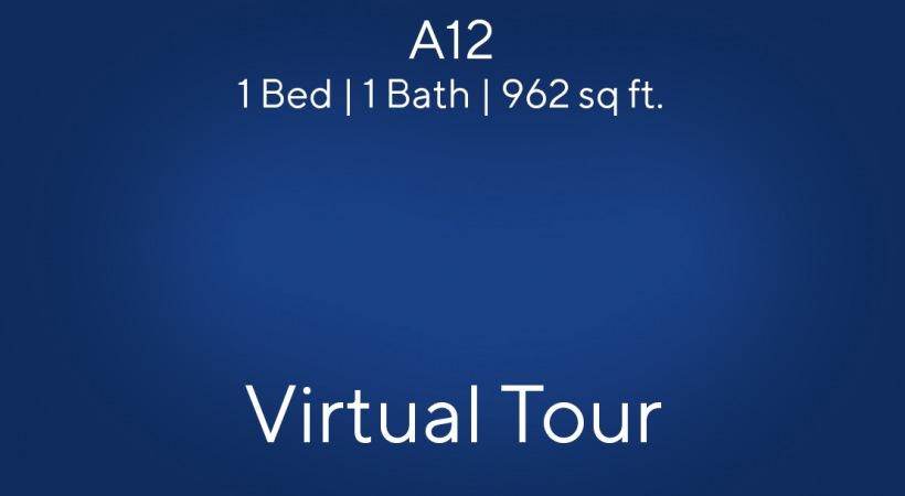 A12 Virtual Tour | 1 Bed/1 Bath
