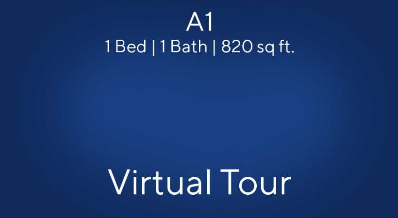 Virtual Tour of one bedroom apartments in West Palm Beach
