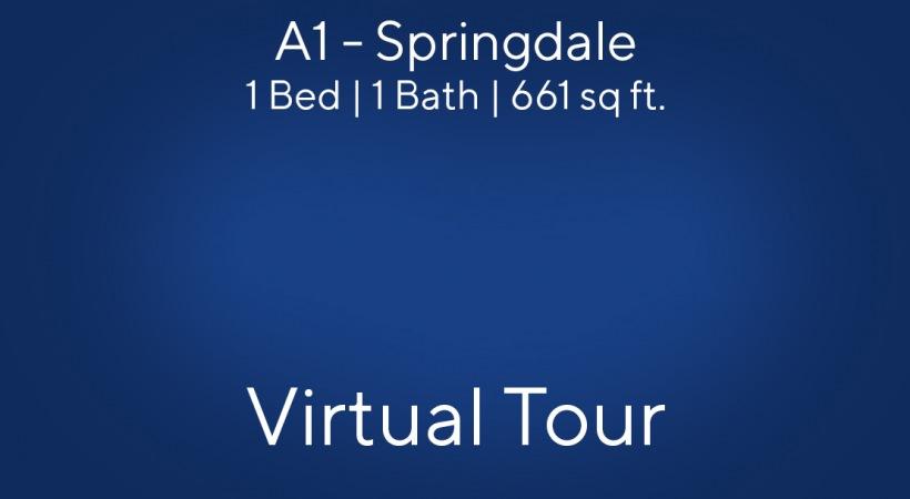 A1 - Springdale Virtual Tour | 1 Bed/1 Bath