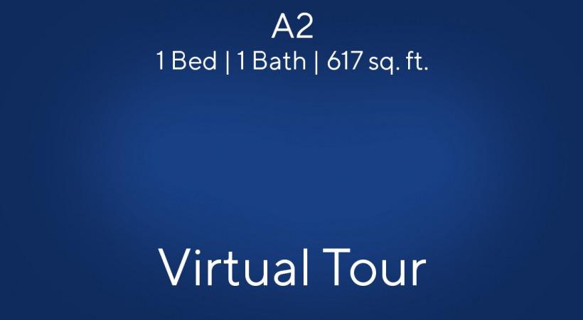 A2 1 Bed | 1 Bath | 617 sq. ft.