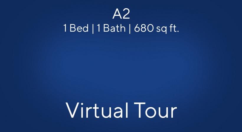 A2 Virtual Tour | 1 Bed/1 Bath