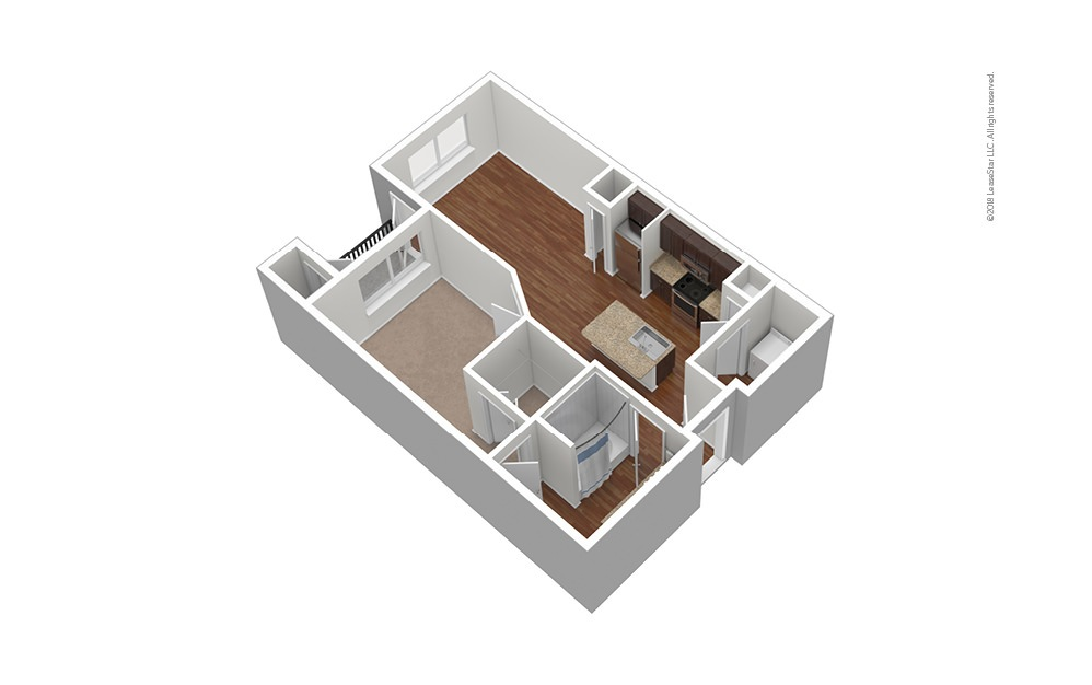 Dallas Cowboys - Classic 1 bedroom 1 bath 665 square feet (1)