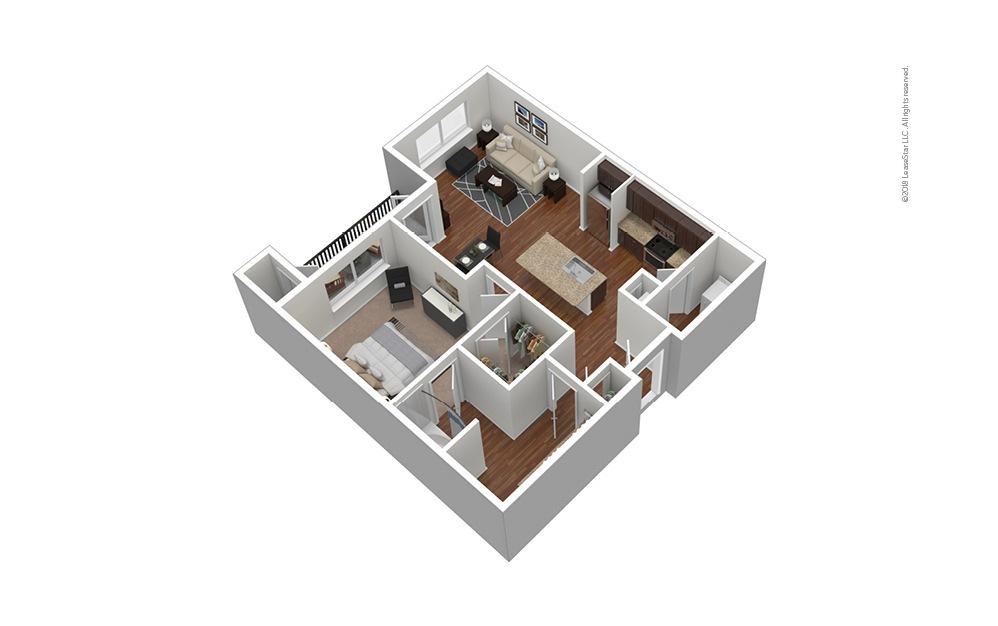 Frisco Square - Classic 1 bedroom 1 bath 720 square feet