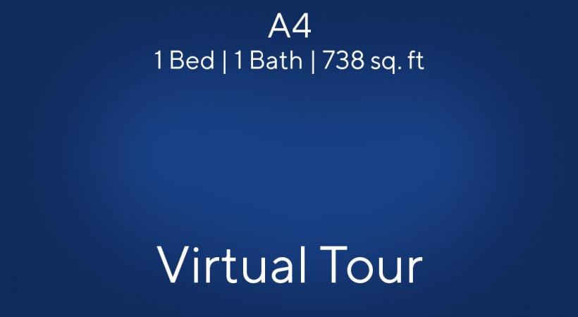 A4 1 Bed | 1 Bath | 738 sq. ft.