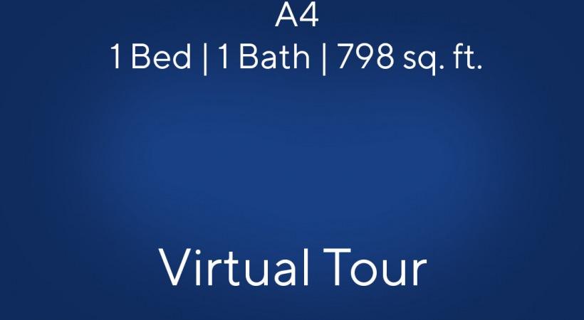A4 1 Bed | 1 Bath | 798 sq. ft.