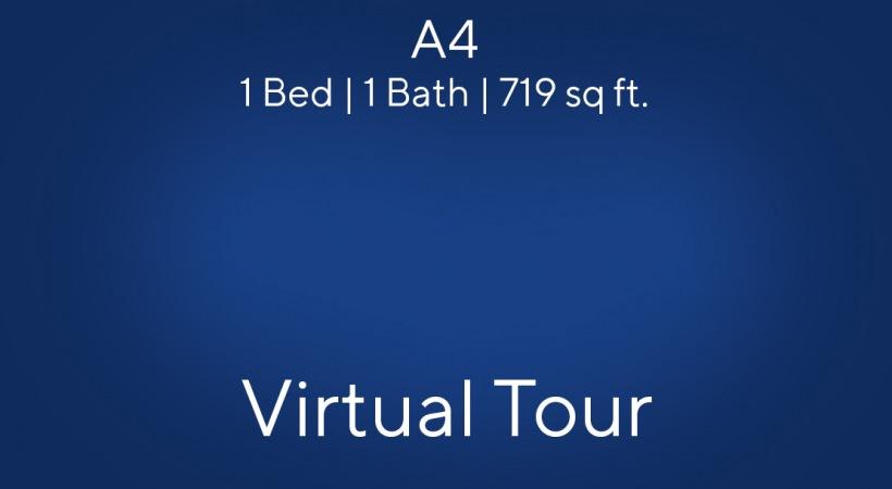 A4 Virtual Tour   1 Bed/1 Bath