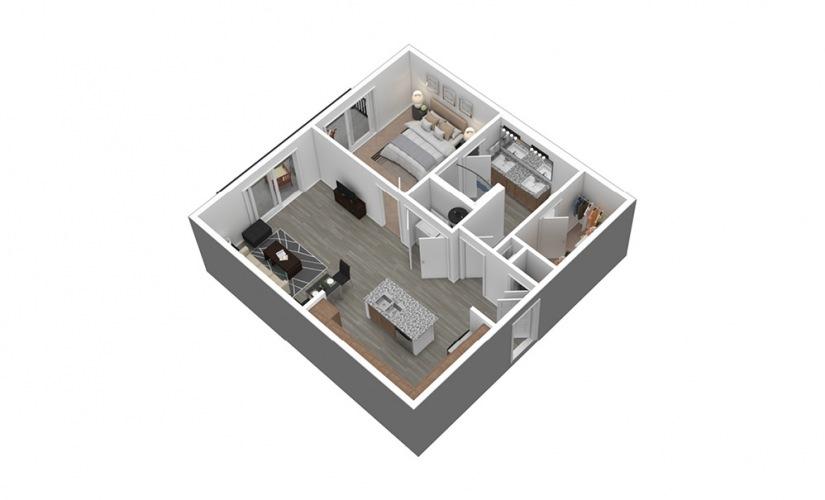 A4 Listing 3D Floor Plan