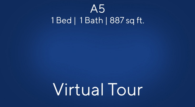 Virtual apartment tour of our 1 bedroom apartments in near Lake Travis