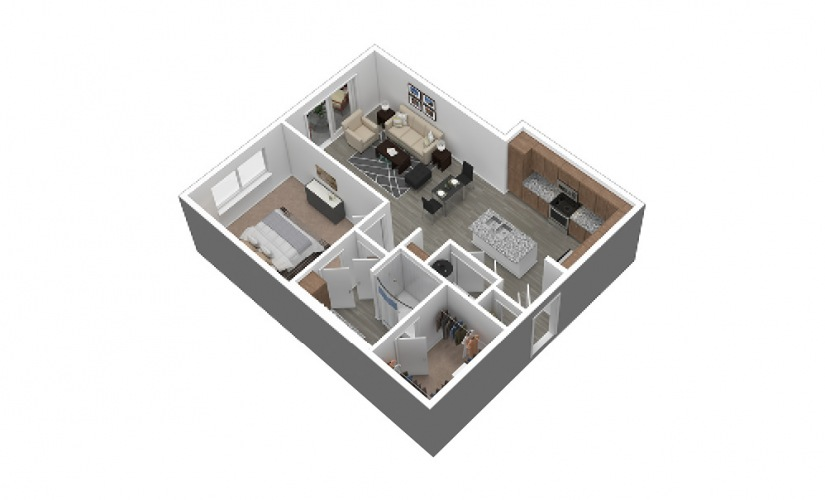 A5 Listing 3D Floor Plan