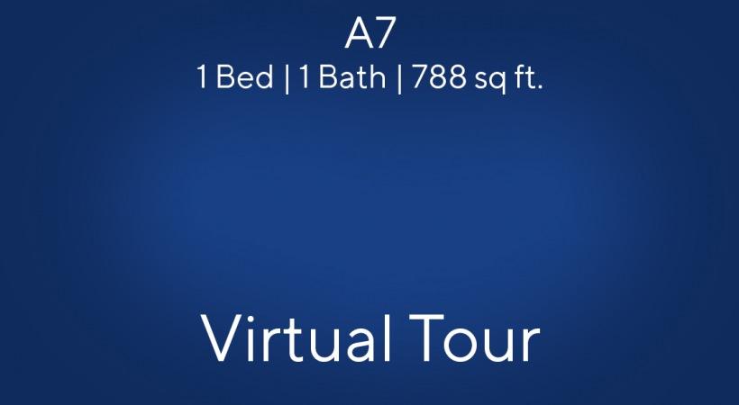 A7 Virtual Tour | 1 Bed/1 Bath