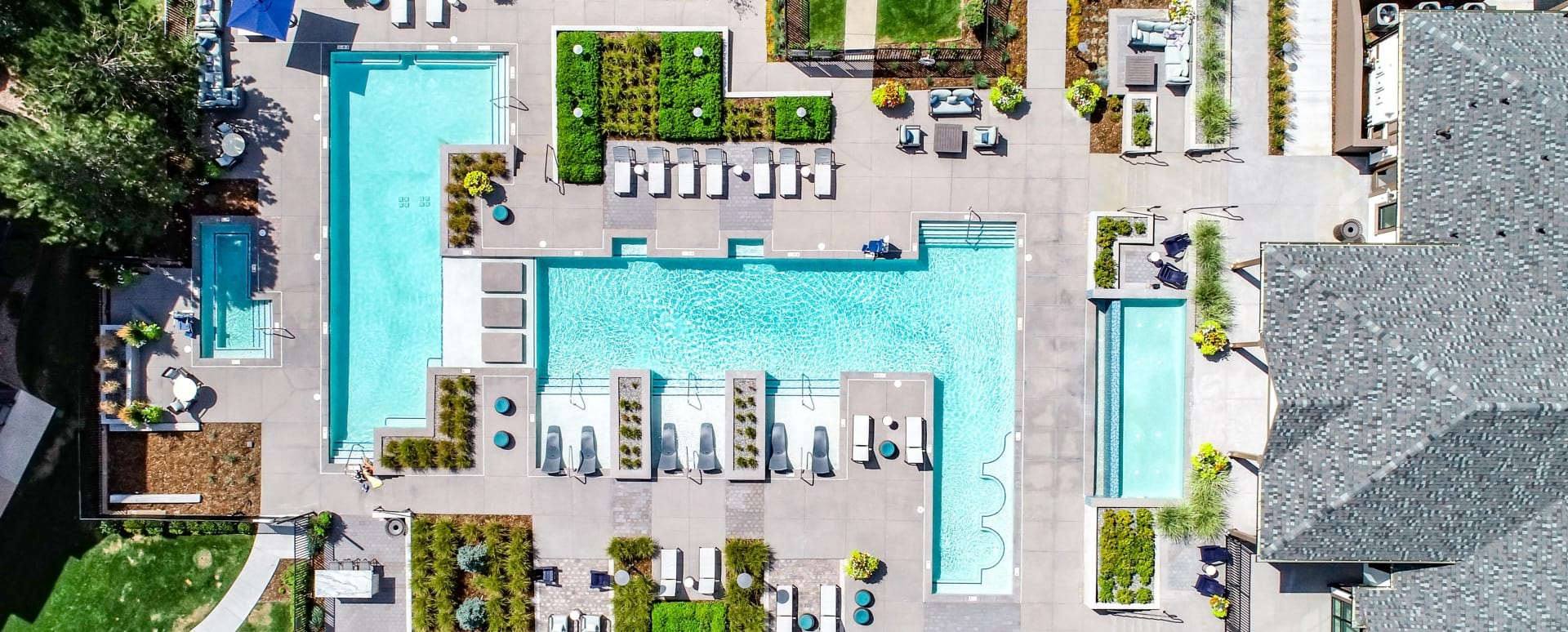 Resort-Style Pool at Our Grand River Apartments