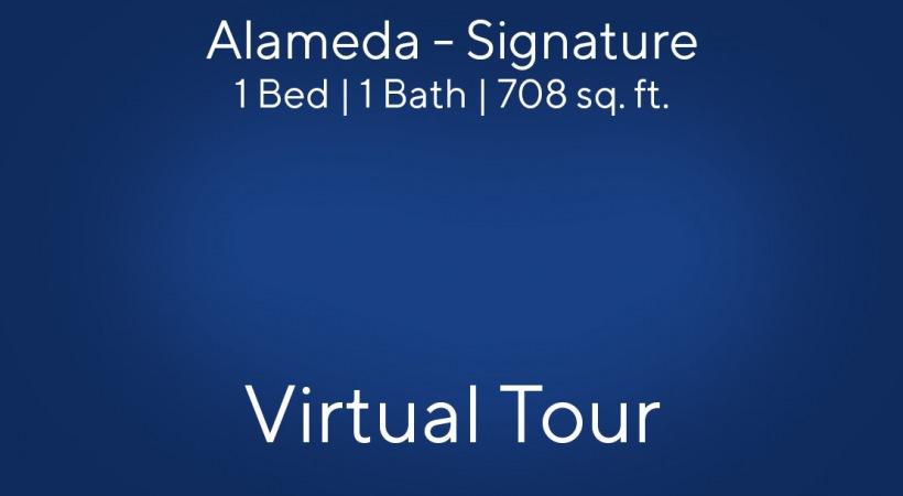 Alameda - Signature 1 Bed | 1 Bath | 708 sq. ft.